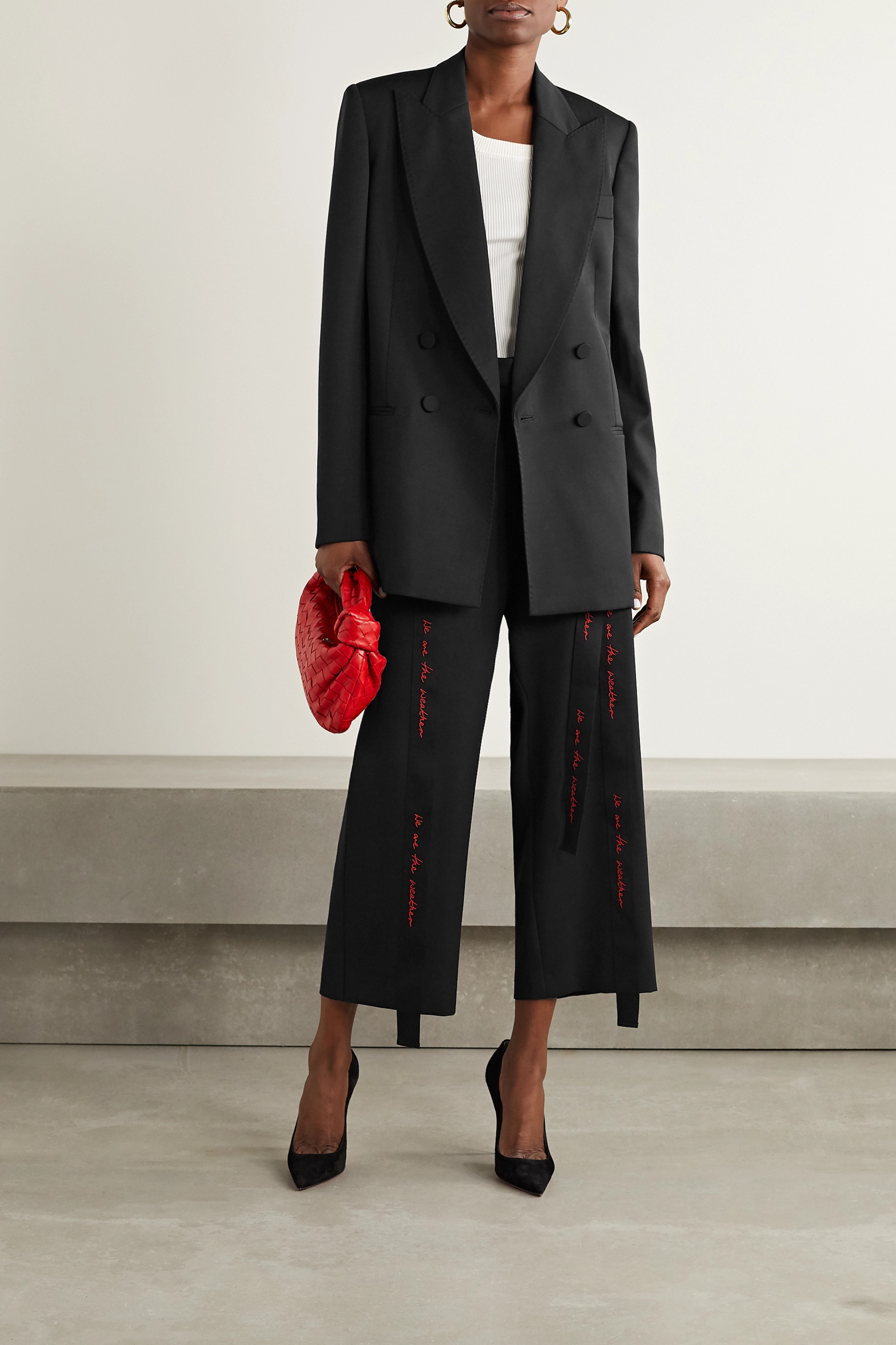 Stella McCartney We Are The Weather oversized wool blazer