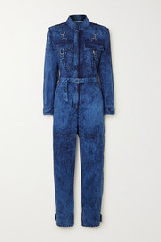 Stella McCartney Acid-wash denim jumpsuit