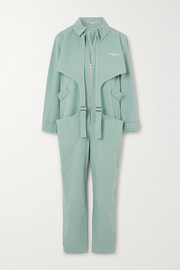 Stella McCartney Buckled printed stretch-cotton jumpsuit