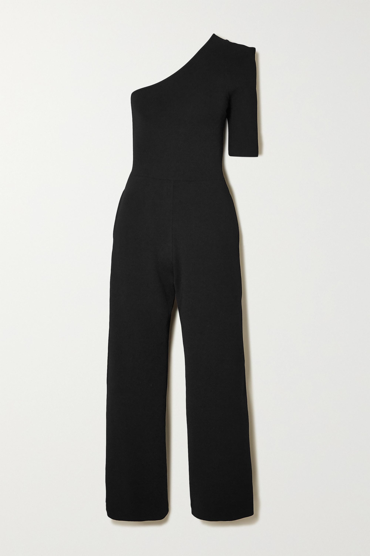 Stella McCartney + NET SUSTAIN one-sleeve stretch-knit jumpsuit
