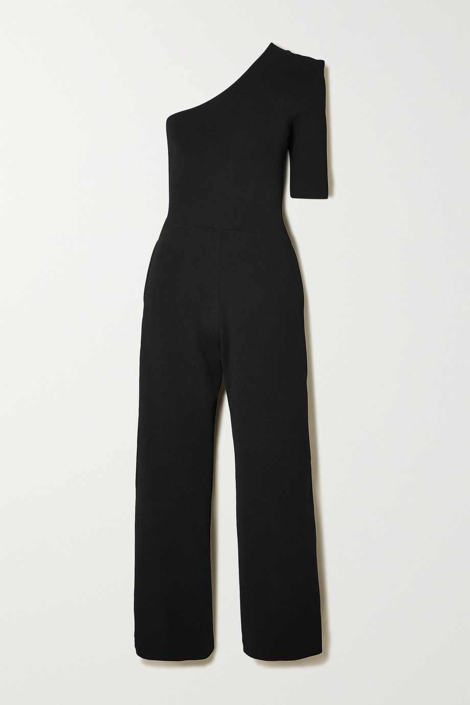 Stella McCartney + NET SUSTAIN one-sleeve stretch-knit jumpsuit