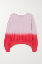 + NET SUSTAIN ombré cashmere and wool-blend sweater