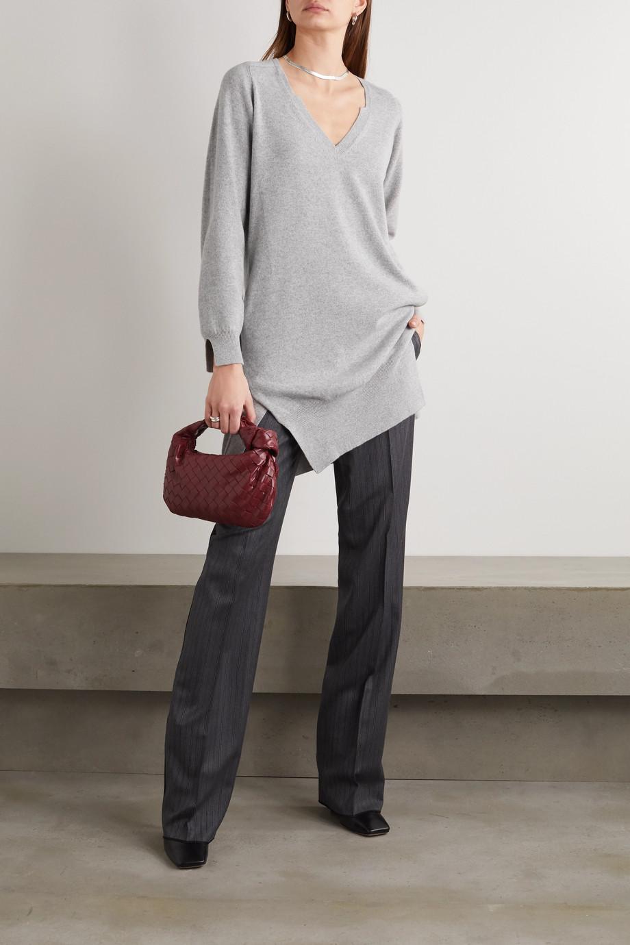 Stella McCartney Cashmere and wool-blend mini dress