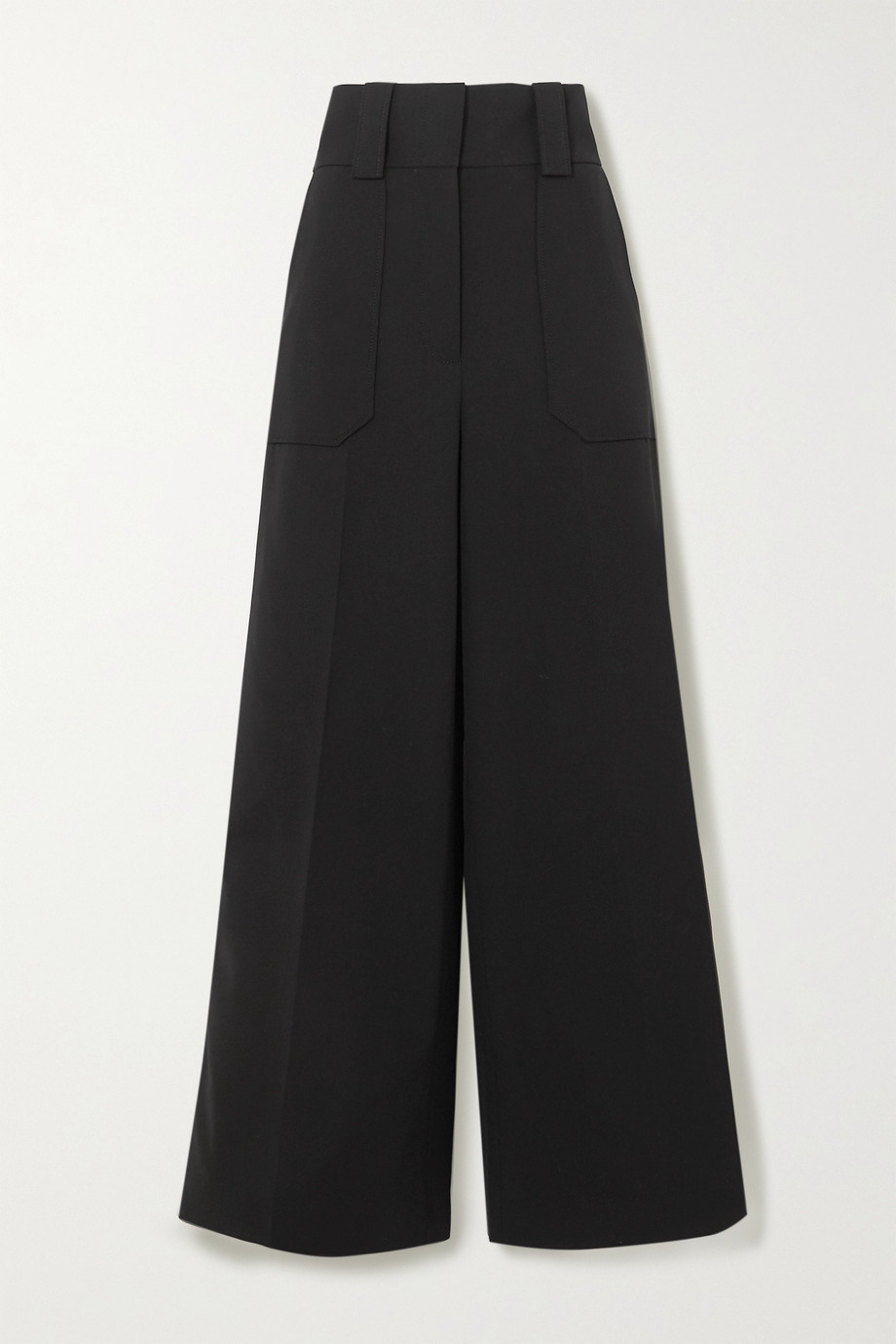 Stella McCartney Wool-blend wide-leg pants