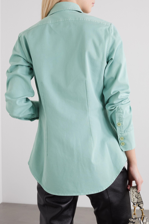 Stella McCartney Printed stretch-cotton twill shirt