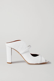 Malone Souliers Norah 85 croc-effect leather sandals
