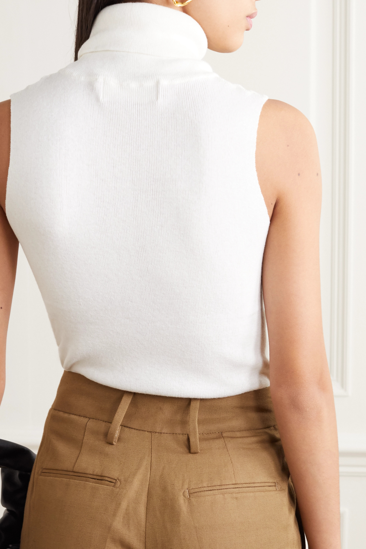 REMAIN Birger Christensen Mantova ribbed cotton-blend turtleneck top