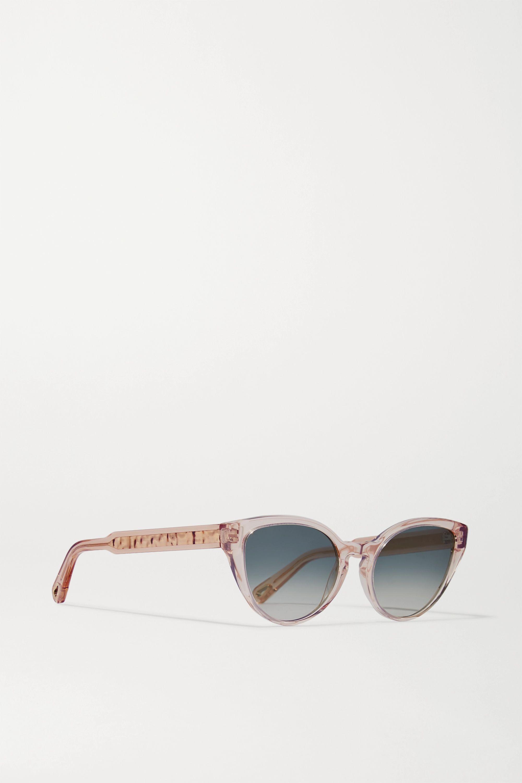 Chloé Willow Cat-Eye-Sonnenbrille aus Azetat