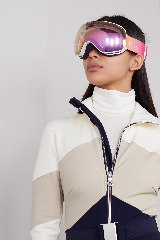 Chloé + Dragon ski goggles