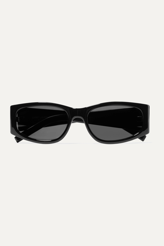 SAINT LAURENT Square-frame acetate sunglasses