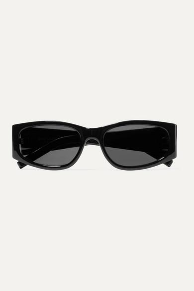 Saint Laurent Sunglasses Square-frame acetate sunglasses