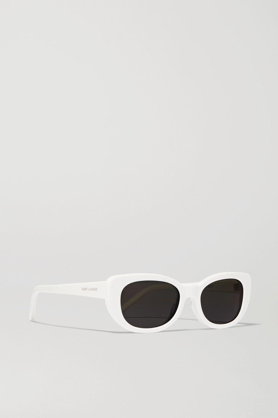 SAINT LAURENT Betty square-frame acetate sunglasses