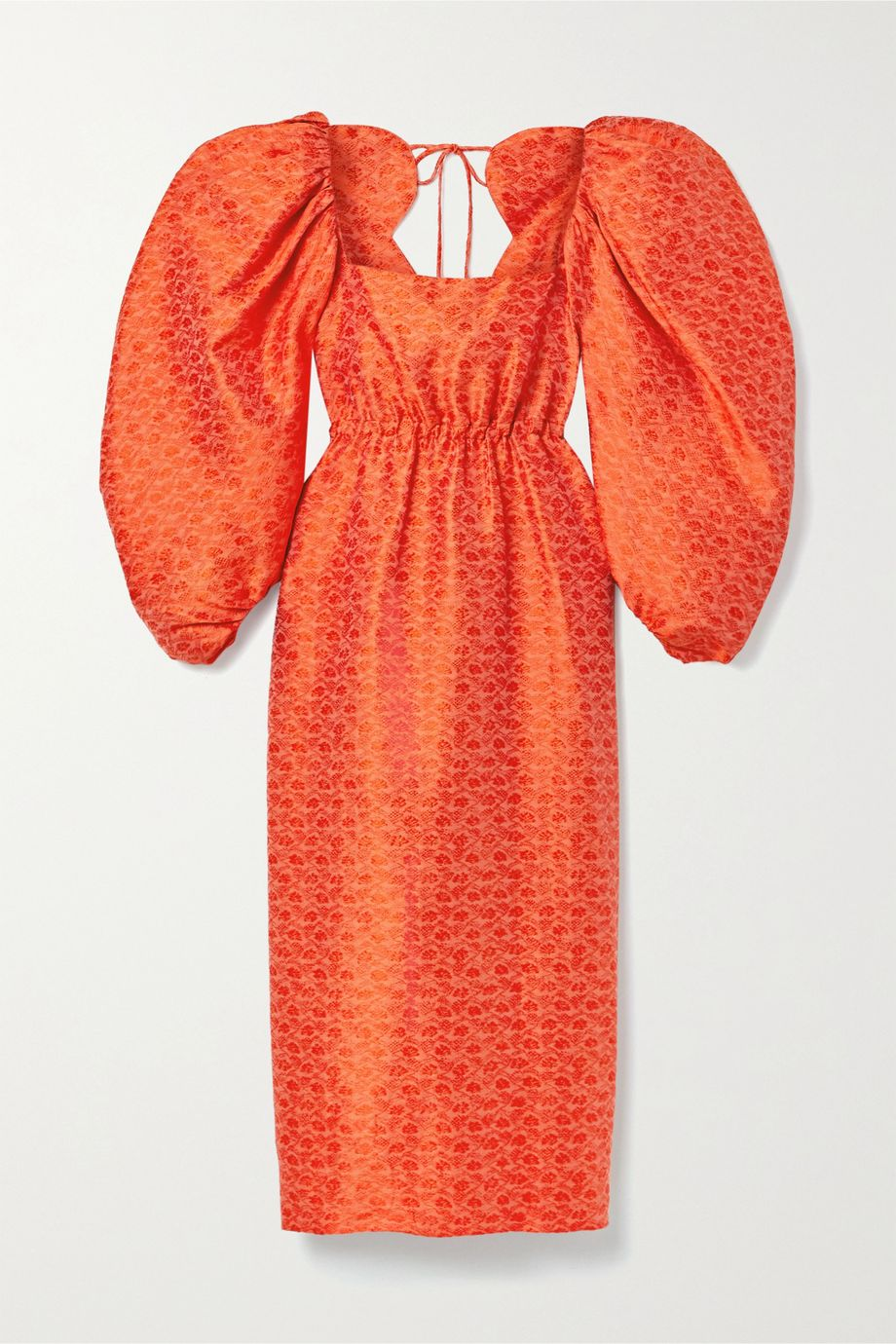 Rosie Assoulin Madame Butterfly brocade midi dress