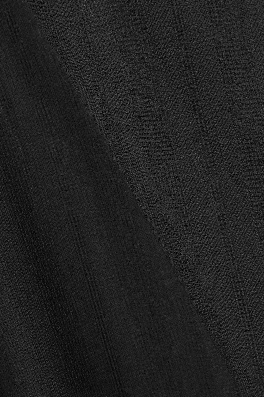 SAINT LAURENT Wool-voile kaftan