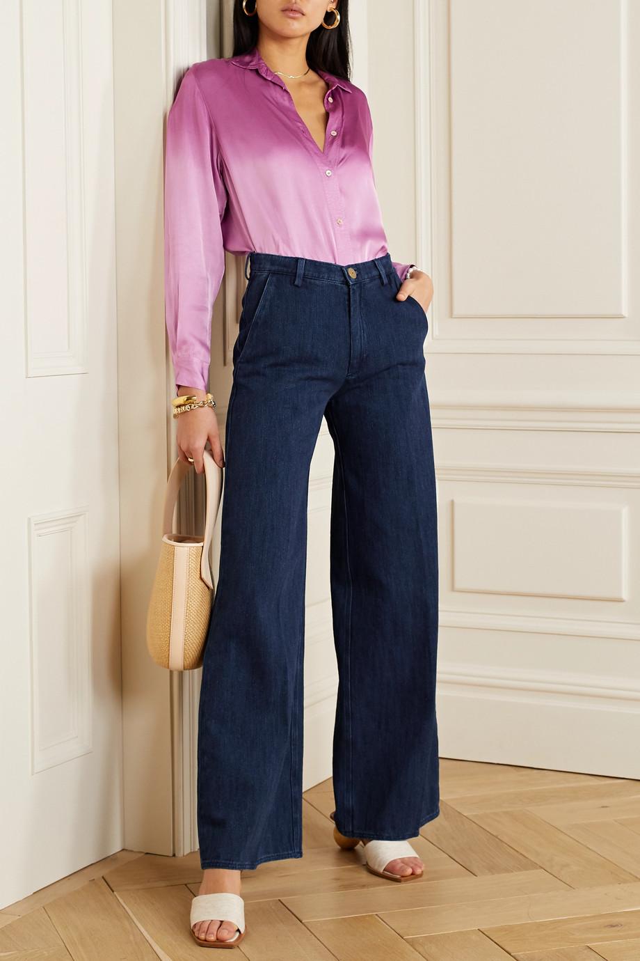 forte_forte Calvary high-rise wide-leg jeans