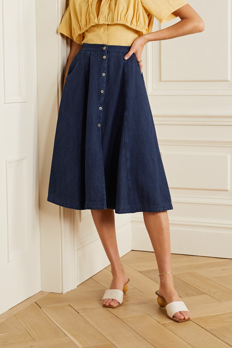 Calvary denim skirt