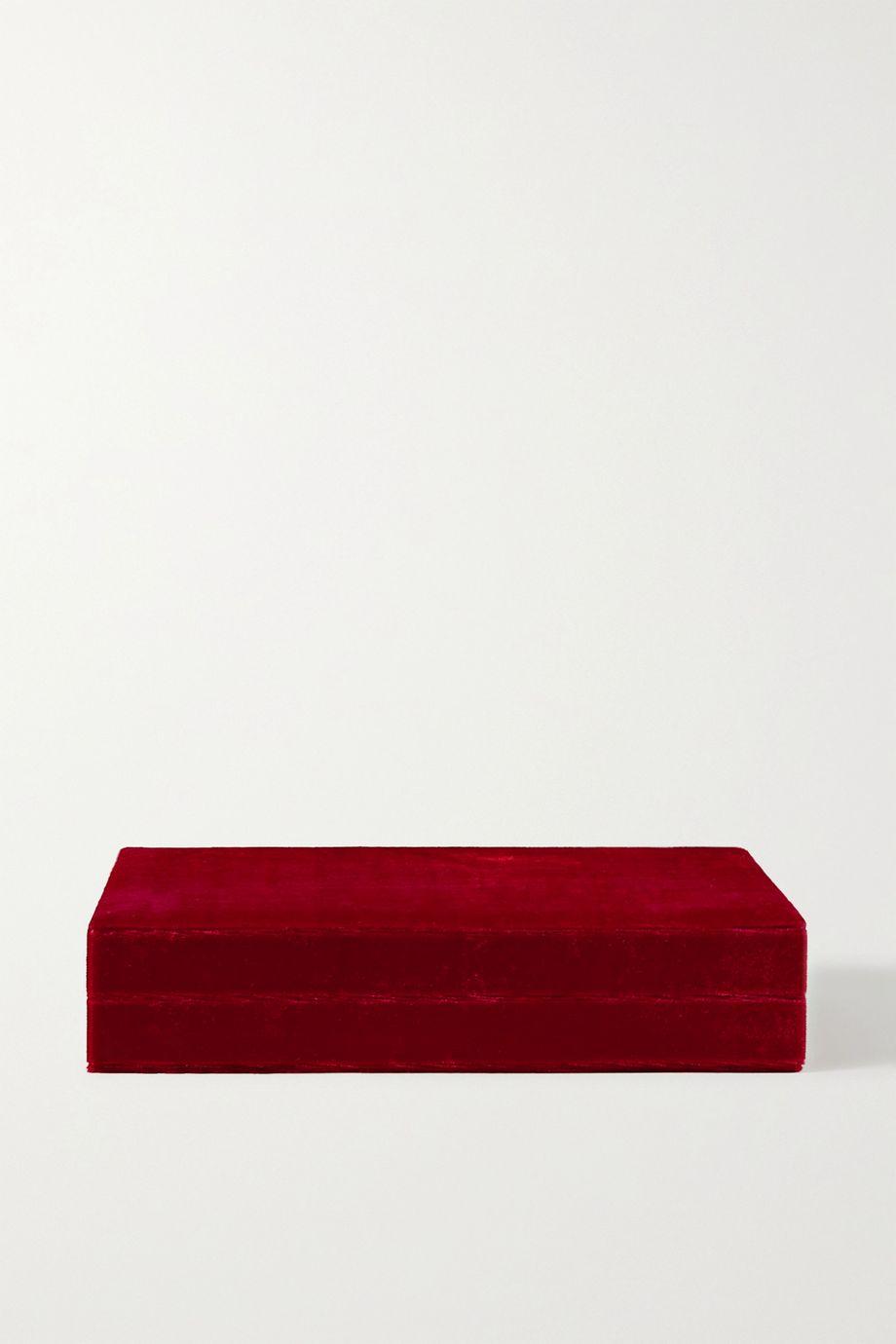 Sophie Bille Brahe 天鹅绒首饰盒
