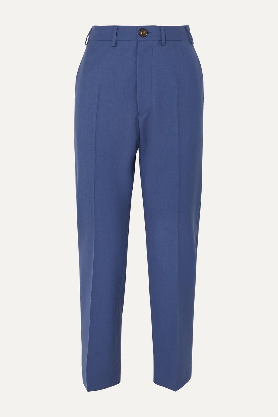 Vivienne Westwood Long George wool slim-fit pants