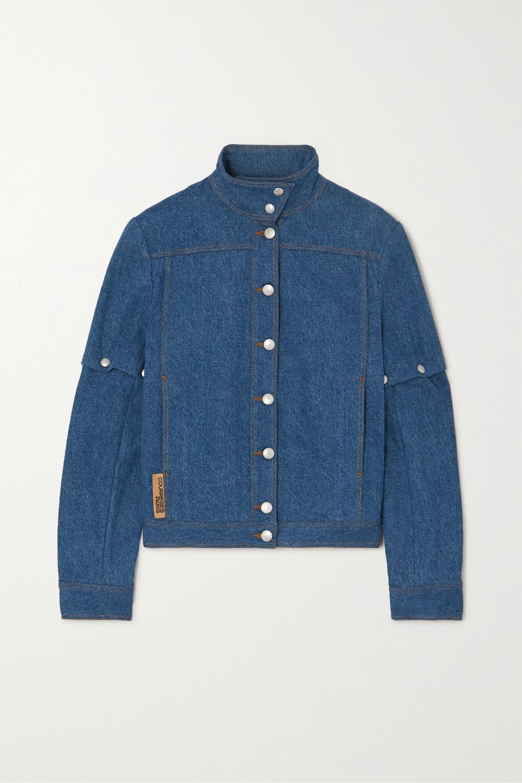 COURREGES Convertible denim jacket