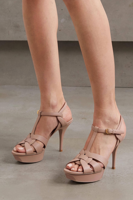 ysl high heels sandals