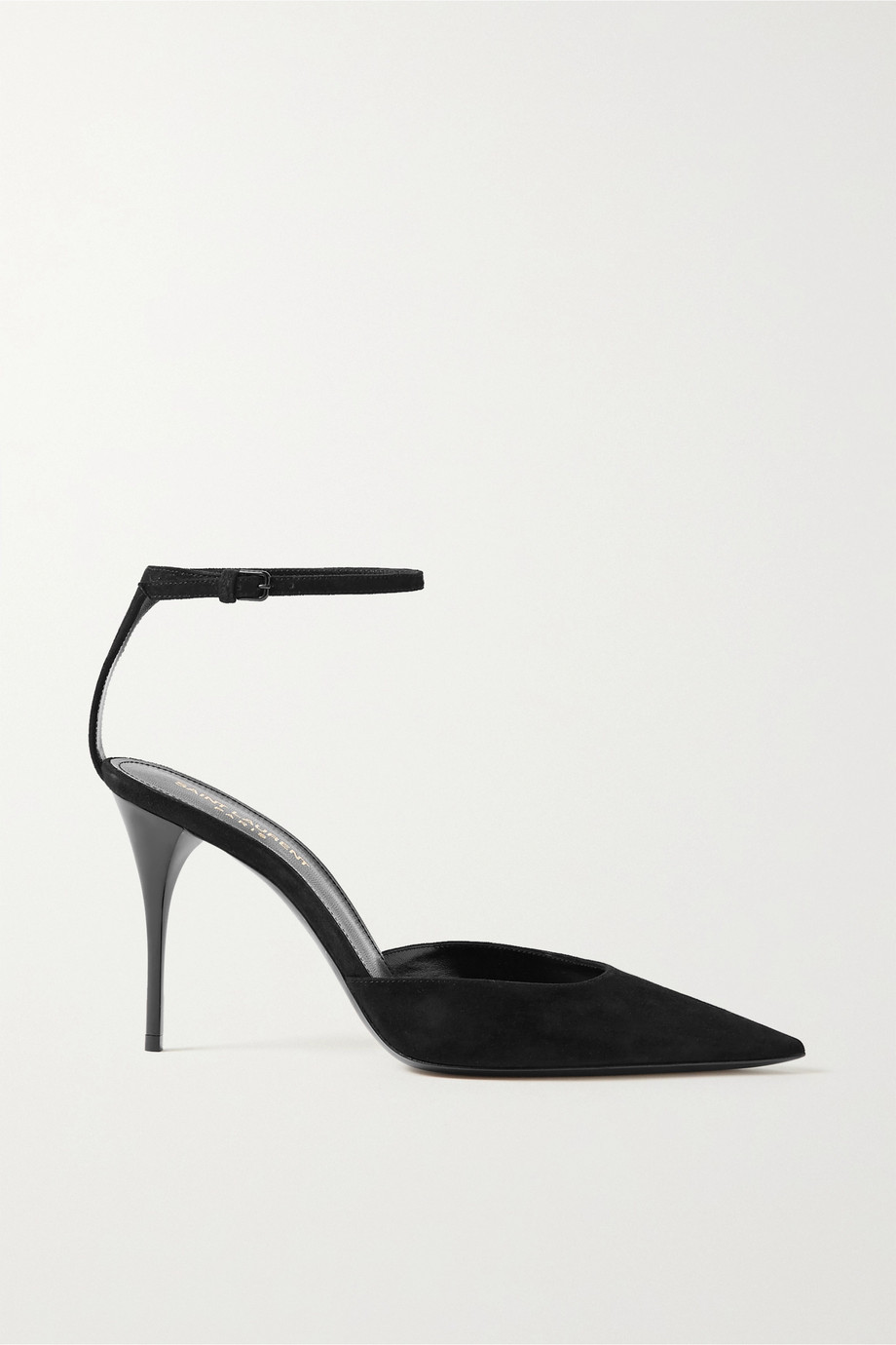 SAINT LAURENT Lexi suede pumps