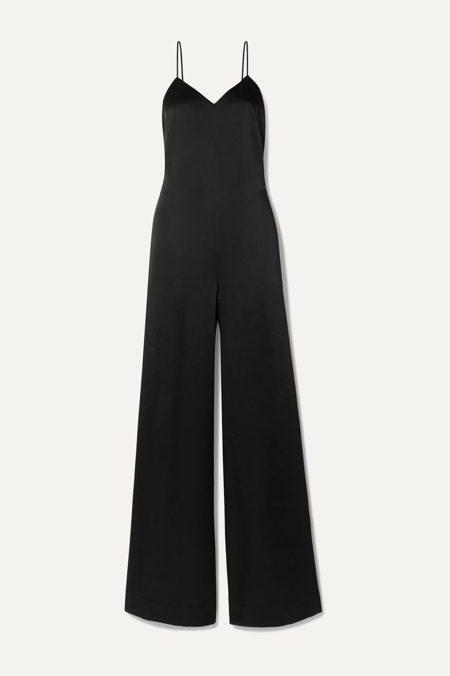 Rosetta Getty Charmeuse jumpsuit