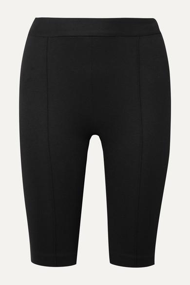 Rosetta Getty Shorts Stretch-ponte shorts