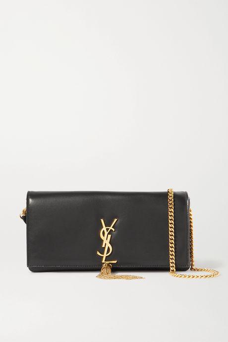 Black Kate leather shoulder bag   SAINT LAURENT aTThRR
