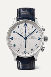 Portugieser Automatic Chronograph 40.9mm stainless steel and alligator watch