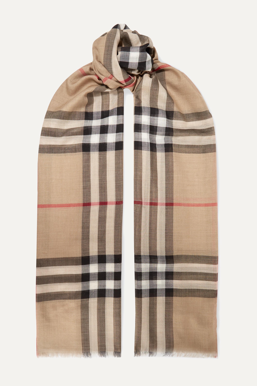 silk-blend scarf | Burberry