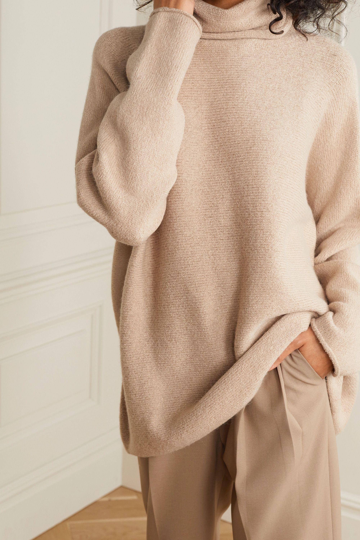 Lauren Manoogian Oversized alpaca turtleneck sweater