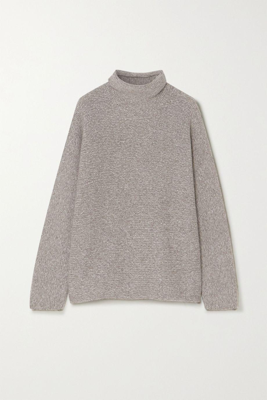 Lauren Manoogian Alpaca and organic cotton-blend turtleneck sweater