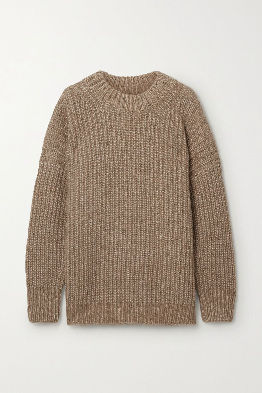 Lauren Manoogian Fisherwoman ribbed alpaca and organic cotton-blend sweater