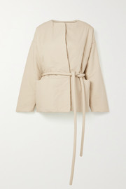 Lauren Manoogian Belted cotton jacket