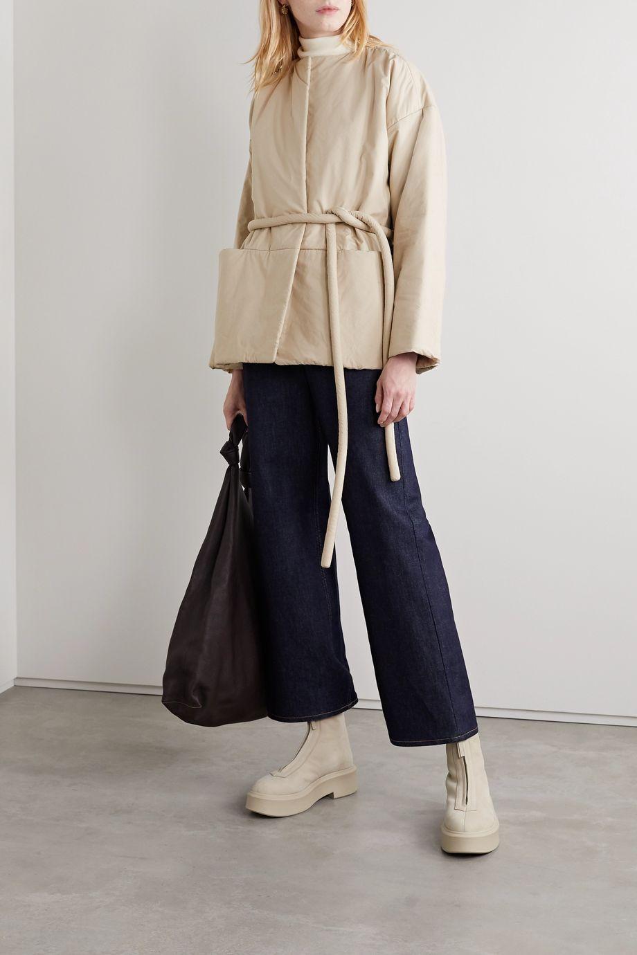 Lauren Manoogian Belted cotton jacket