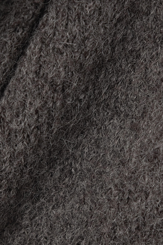 Lauren Manoogian Capote hooded alpaca-blend cardigan