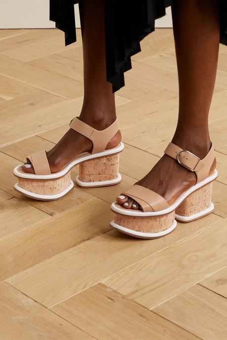 Harrigan leather platform sandals