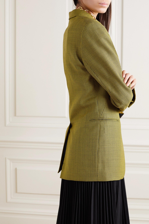 Petar Petrov Jaffa houndstooth wool and mohair-blend blazer