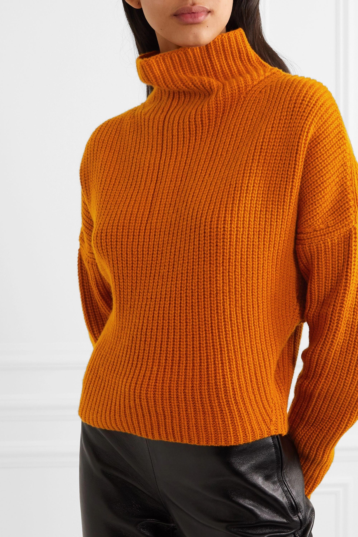 Petar Petrov Kate ribbed cashmere turtleneck sweater