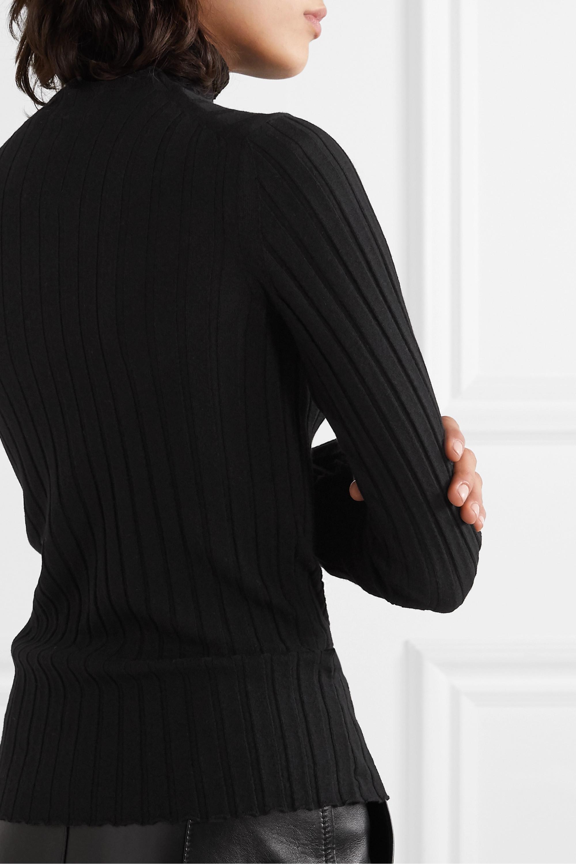 Petar Petrov Karen ribbed merino wool turtleneck sweater