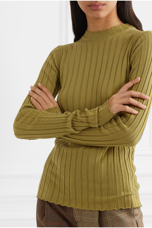 Petar Petrov Kent ribbed merino wool sweater