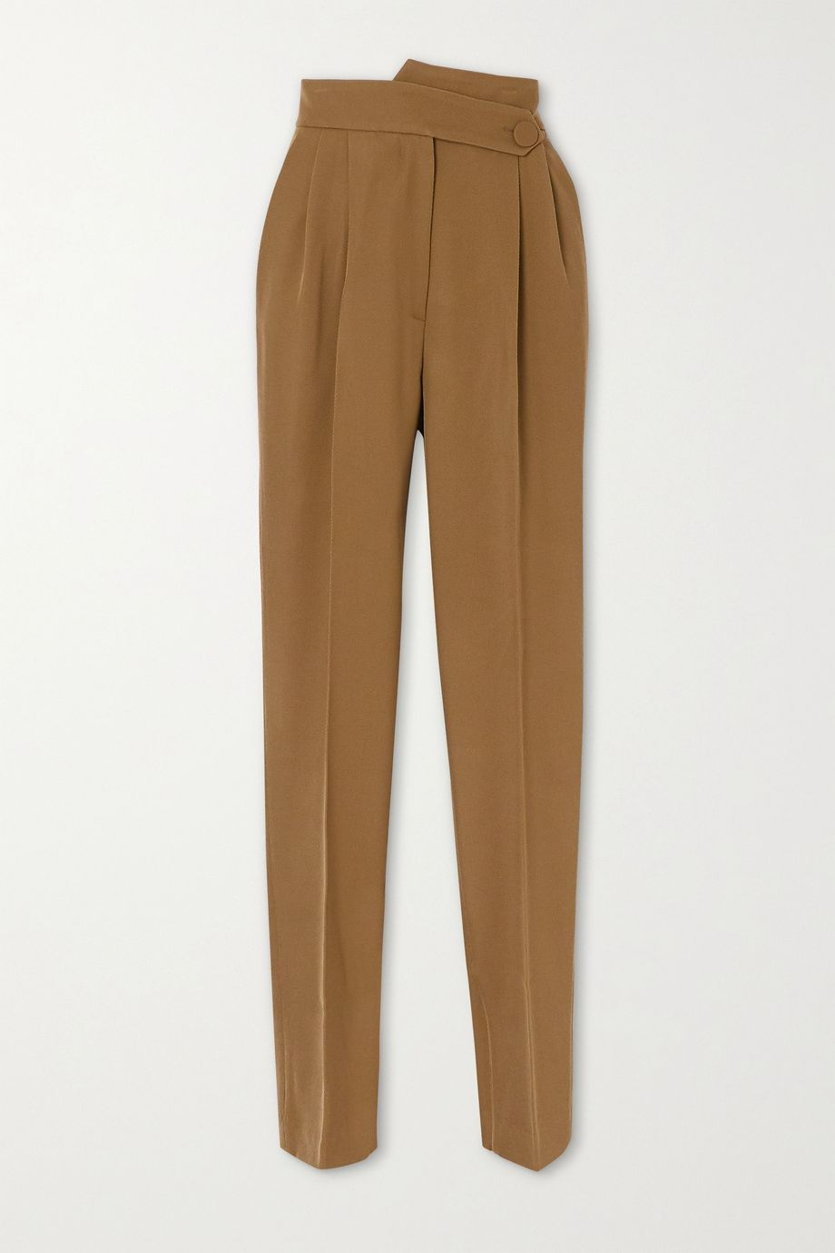 Petar Petrov Herve pleated wool-twill tapered pants