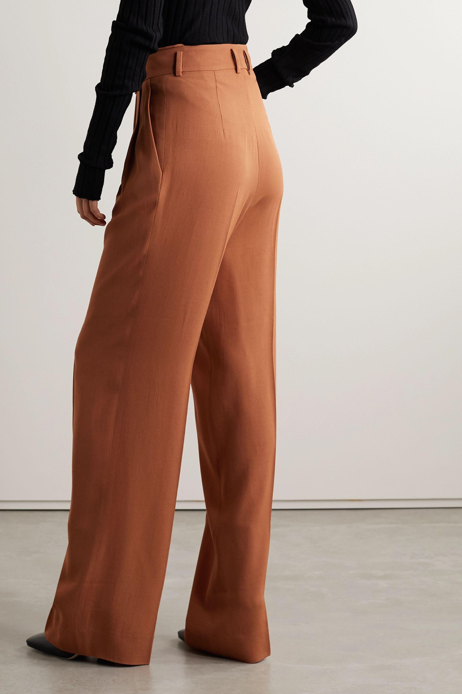 Petar Petrov Hector wool-blend wide-leg pants