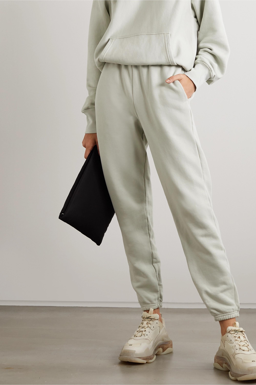 Les Tien 纯棉平纹布休闲裤
