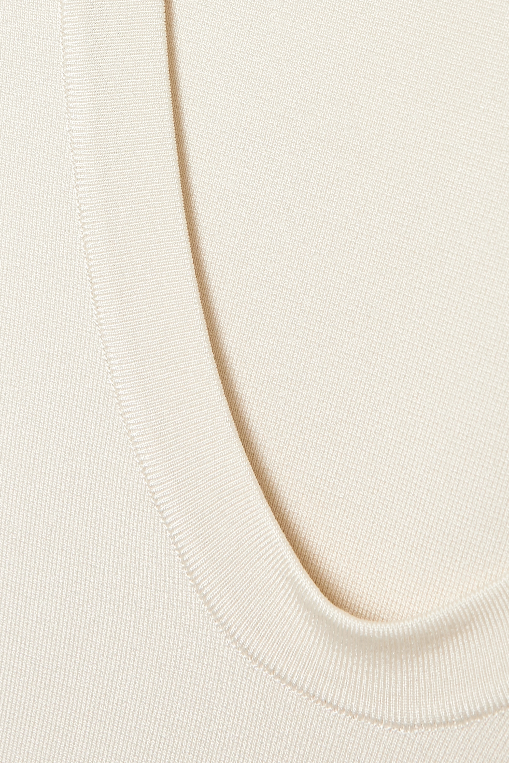 CASASOLA Stretch-jersey thong bodysuit