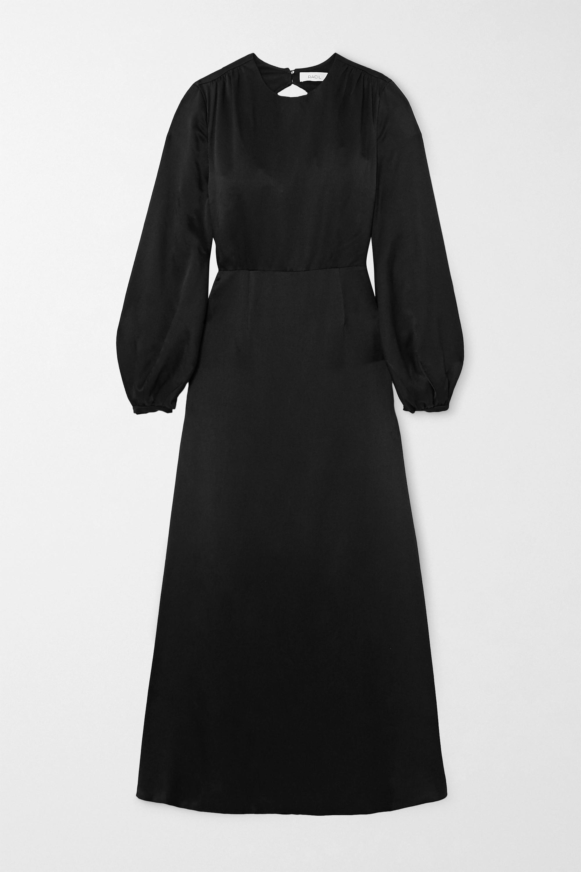 Racil Open-back crepe de chine maxi dress