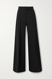 Lincoln stretch-wool flared pants