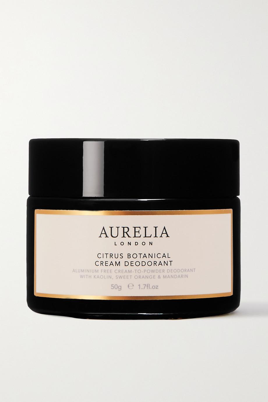 Aurelia Probiotic Skincare + NET SUSTAIN Citrus Botanical Cream Deodorant, 50g