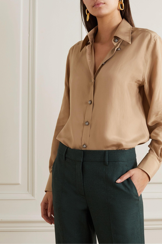 Dolce & Gabbana Bluse aus vorgewaschener Seide