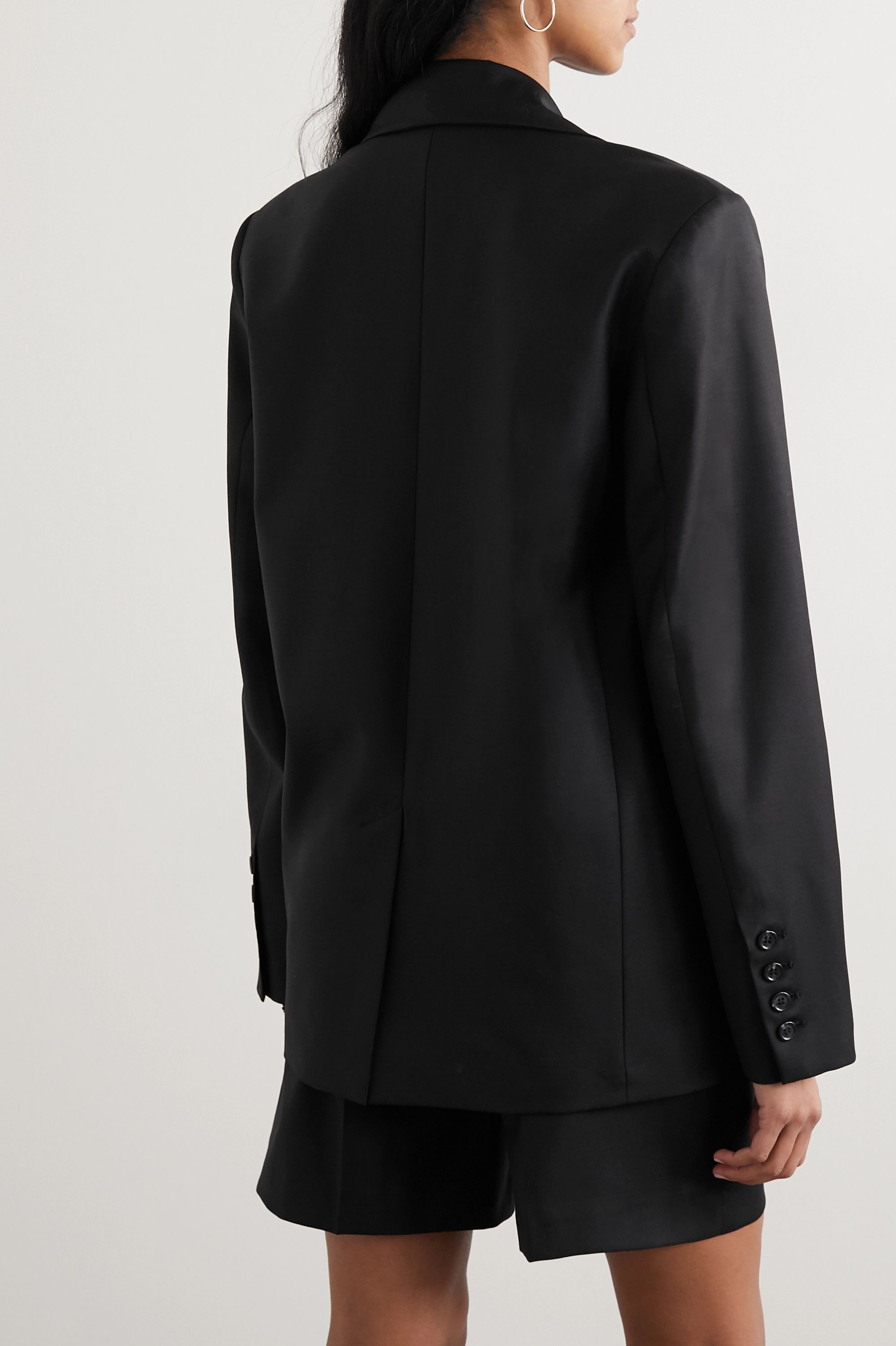 LOULOU STUDIO Tatakoto double-breasted wool-twill blazer